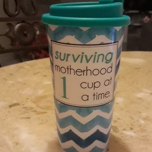 Mothers sealed travel cup